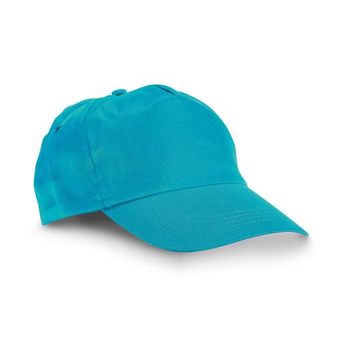 CHILKA. Cap for children in cyan