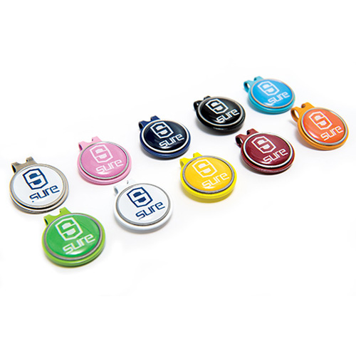 Cap Clip With Removable Ball Marker