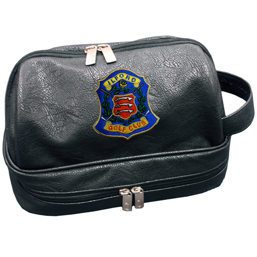 Aerona Leatherette Wash Bag