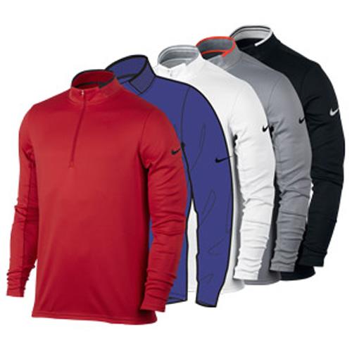 Nike Dri-fit 1/2 Zip Ls Top