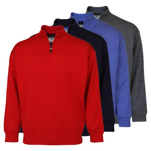 PQ Merino Lined 1/2 Zip Neck Sweater