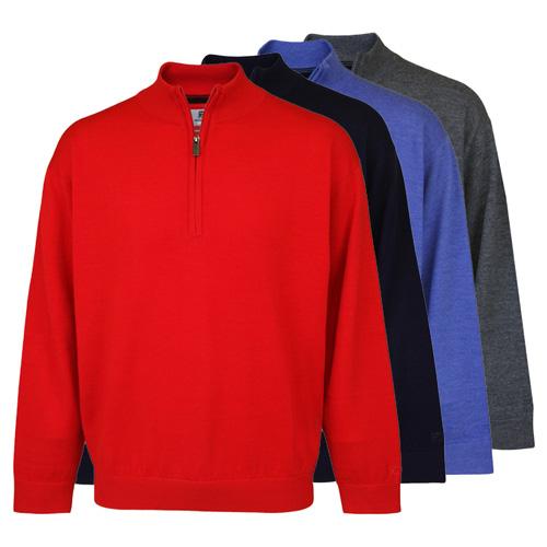 PQ Merino UN-Lined 1/2 Zip Neck Sweater