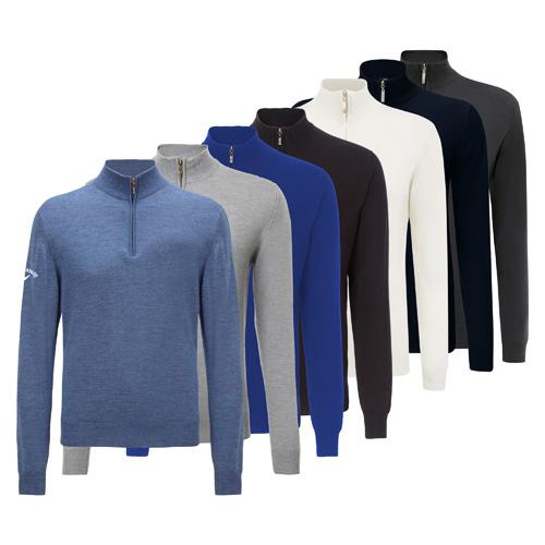 Callaway Merino 14 Zip Sweater Probos Promotions Ltd