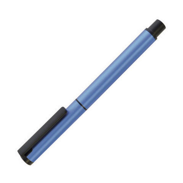 Flute Roller Metal Pens in silver