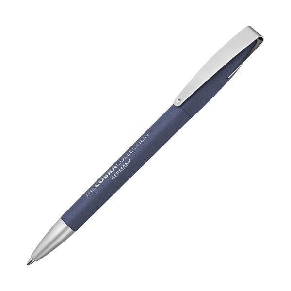Cobra Mm Softgrip Pen in dark-blue