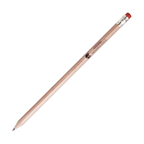 Hb Rubber Tipped Pencils in natural