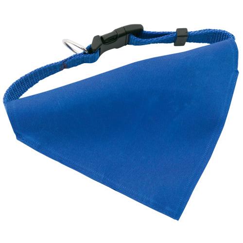 Bandana Pet Collar Roco in blue
