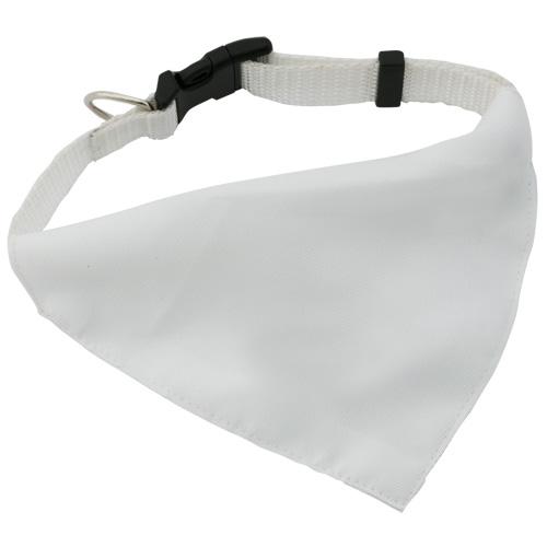 Bandana Pet Collar Roco in white