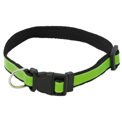 Reflective Pet Collar Muttley in black