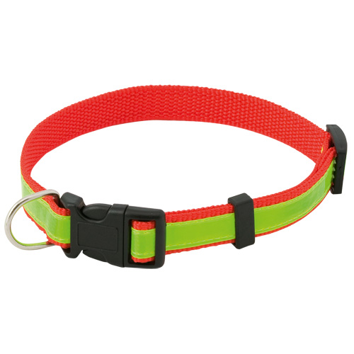 Reflective Pet Collar Muttley in red