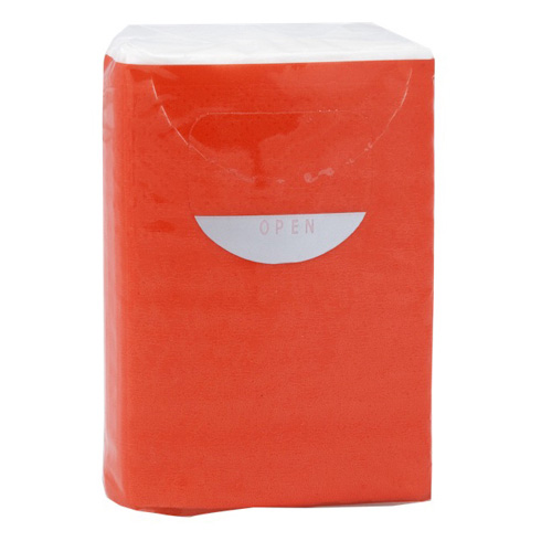 Tissues Custom in red