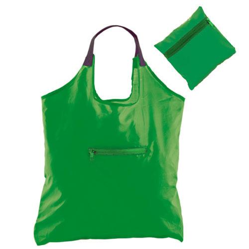 Foldable Bag Kima in green