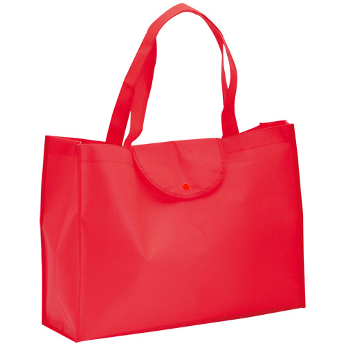 Foldable Bag Austen in red