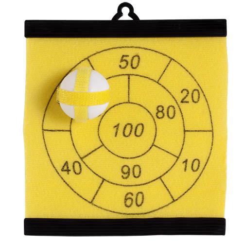 Dartball Board Aracno in yellow