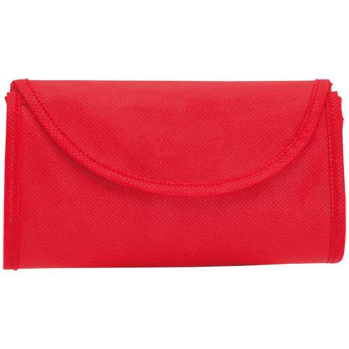Foldable Bag Konsum in red