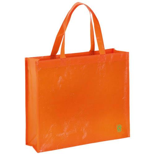 Bag Flubber in orange