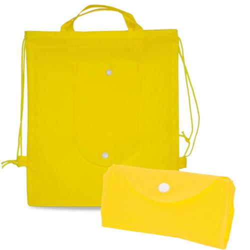 Foldable Drawstring Bag Nomi in yellow