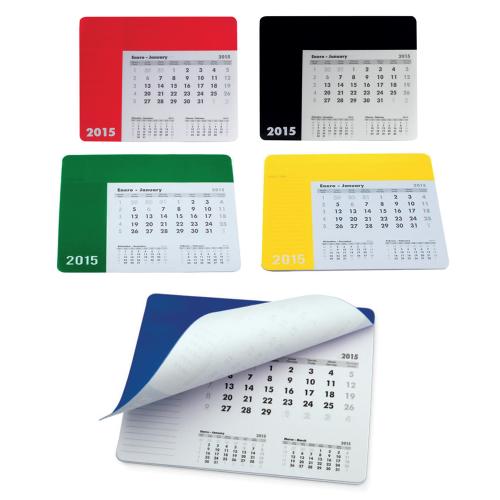 Mousepad Calendar Rendux in