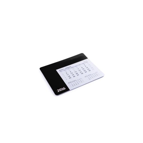 Mousepad Calendar Rendux in black