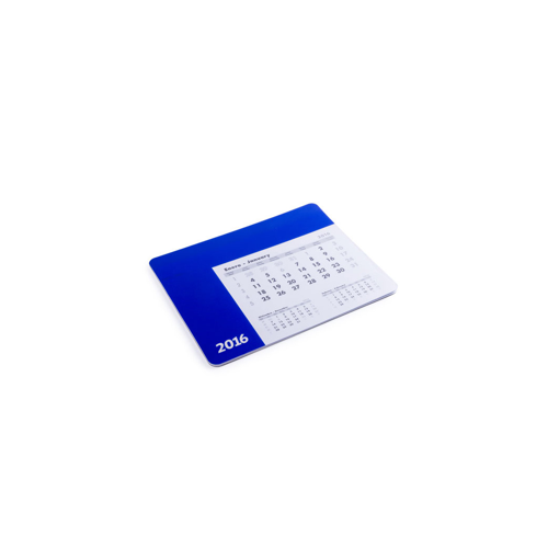 Mousepad Calendar Rendux in blue