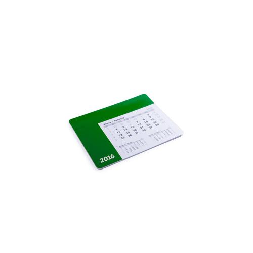 Mousepad Calendar Rendux in green