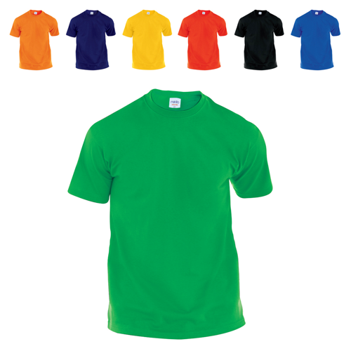 Adult Color T-Shirt Hecom in yellow