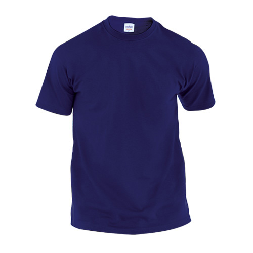 Adult Color T-Shirt Hecom in navy-blue