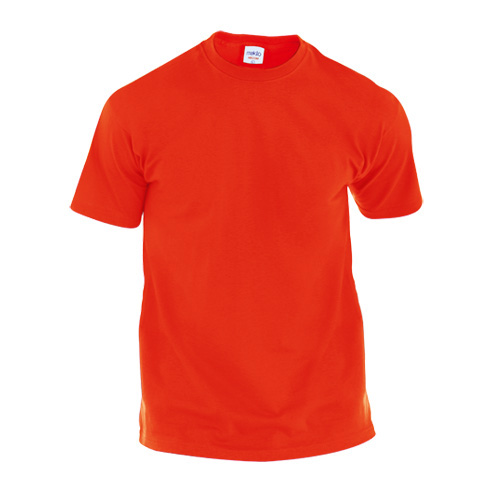Adult Color T-Shirt Hecom in red