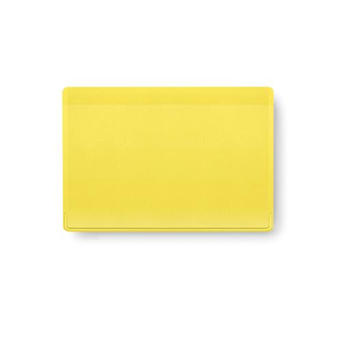Card Holder Kazak in yellow