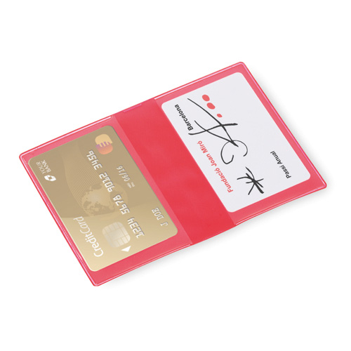 Card Holder Letrix in red