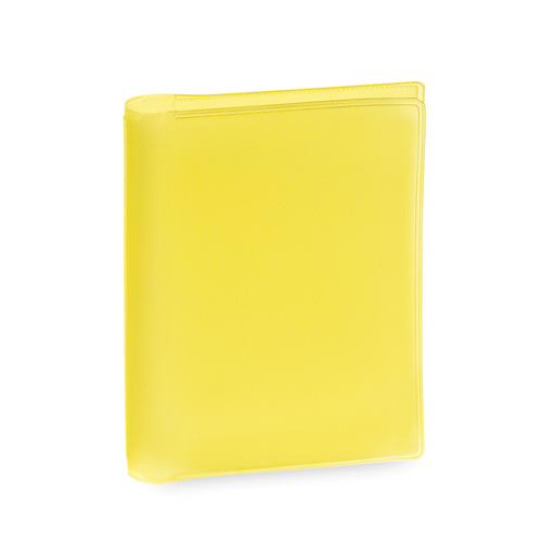 Card Holder Letrix in yellow