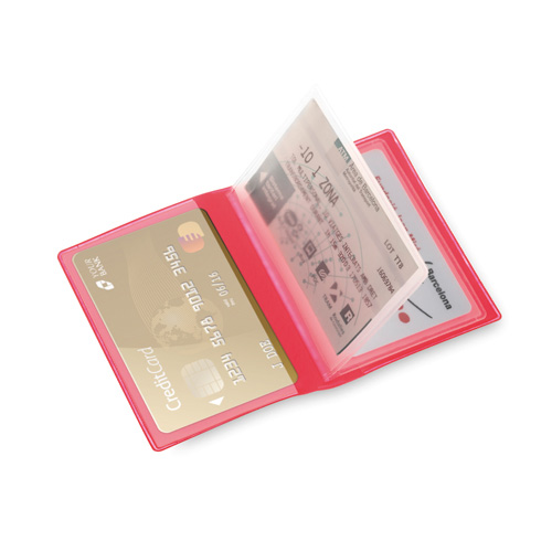 Card Holder Mitux in red
