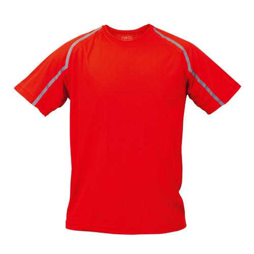 T-Shirt Tecnic Fleser in red