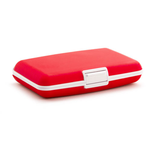 Card Holder Vitox in red
