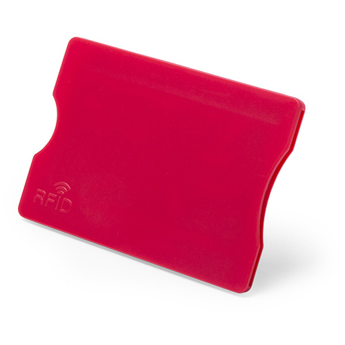 Card Holder Randy in red