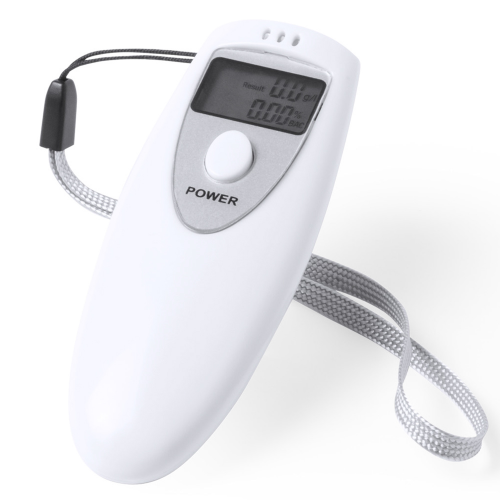 Alcohol Tester Gamp in white