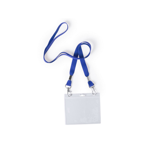 Badge Lanyard Cail in blue