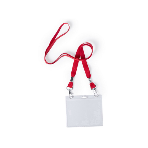 Badge Lanyard Cail in red