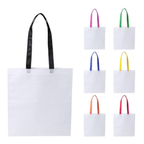 Non Woven Bag with Colour Handles