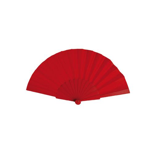 Hand Fan Tela in red