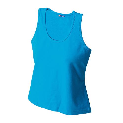 T-Shirt Woman in light-blue