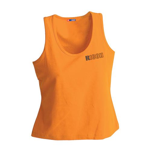 T-Shirt Woman in orange