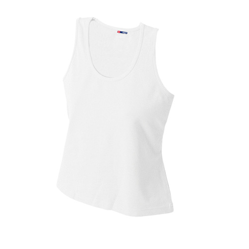 T-Shirt Woman in white
