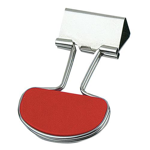 Clip Doc in red