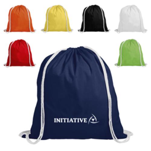 Cotton Backpack Drawstring
