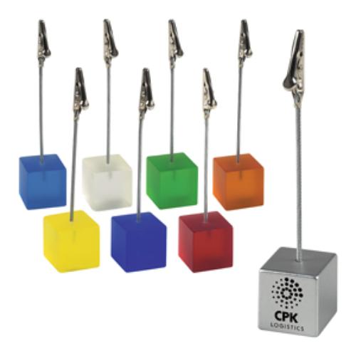 Cube Memo Clip