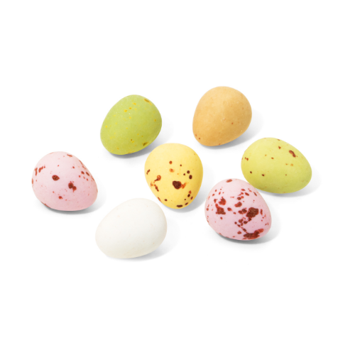 Large Pouch Speckled Chocolate Eggs