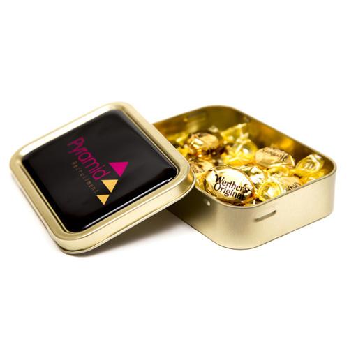 Gold Sweet Tin Werther's Original