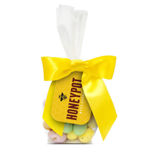 Swing Tag Bag Speckled Chocolate Eggs