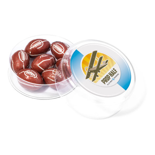 Maxi Round Foil wrapped Rugby Balls